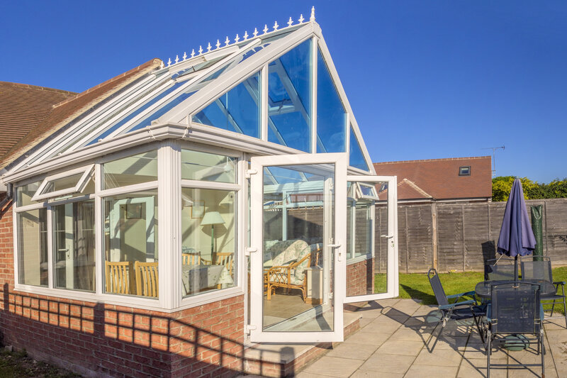Glass Conservatory in Dorset United Kingdom